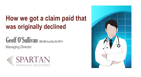 How we got a claim paid